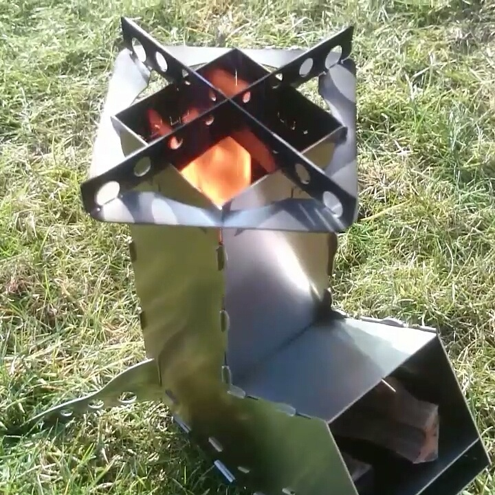 Rocket Stove by AAZZAA